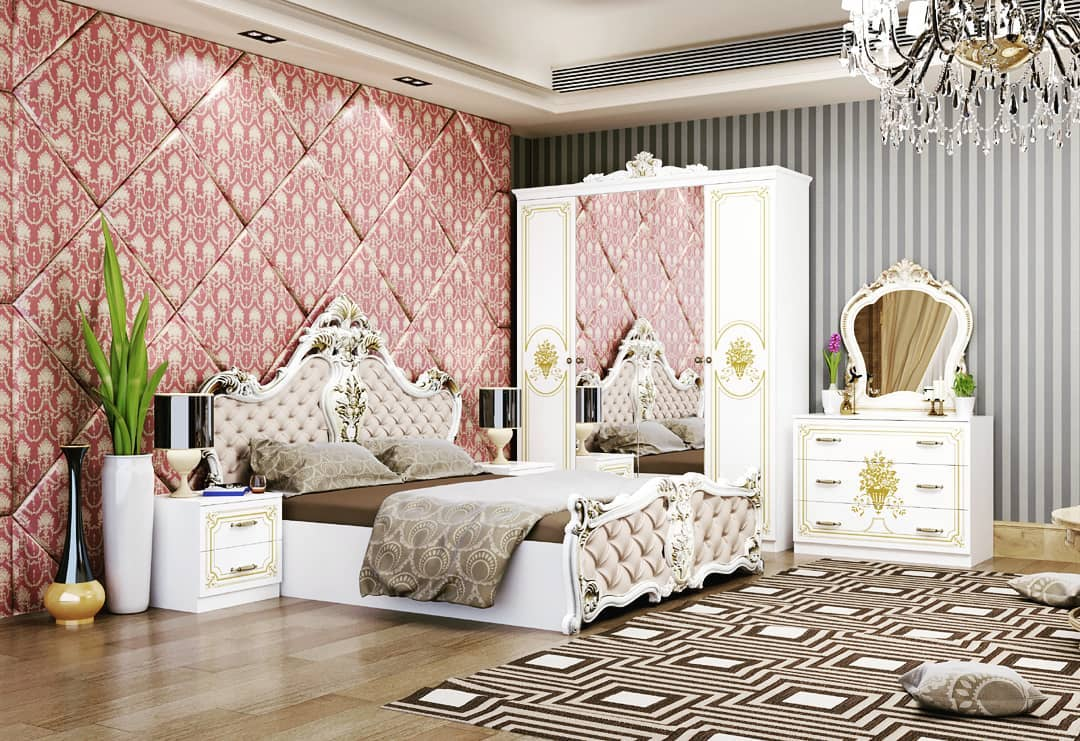 Спальный гарнитур 4-х дв «Кристина»